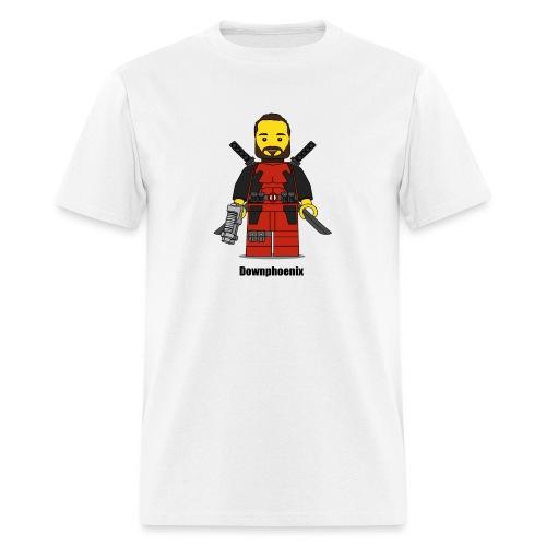 Downphoenix Character Logo - Men's T-Shirt