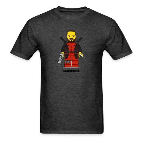 Downphoenix Character Logo - Men's T-Shirt