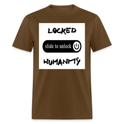 Locked Humanity - Men's T-Shirt