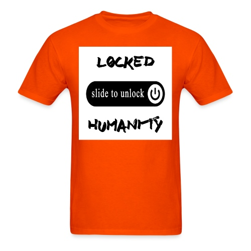 Locked Humanity - Men's T-Shirt