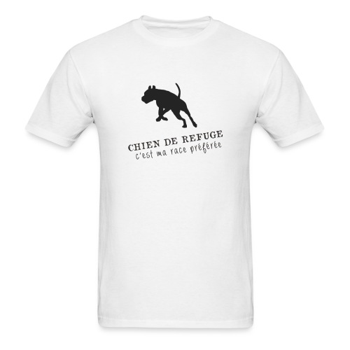 chien de refuge png - Men's T-Shirt