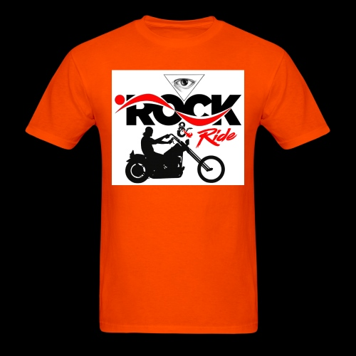 Eye Rock & Ride Design - Men's T-Shirt