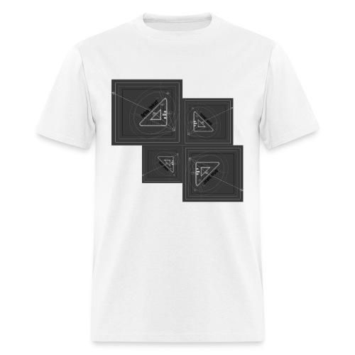 ARKETEKXR - 3D View Port Invert - Men's T-Shirt