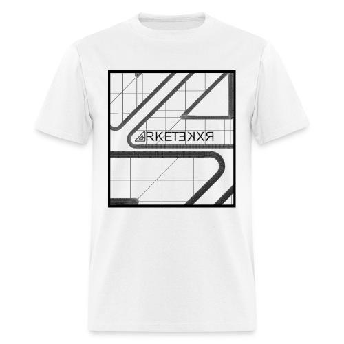 ARKETEKXR - 3D Wireframe - Men's T-Shirt