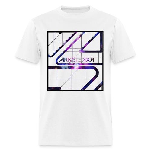 ARKETEKXR - 3D Wireframe Galaxy - Men's T-Shirt
