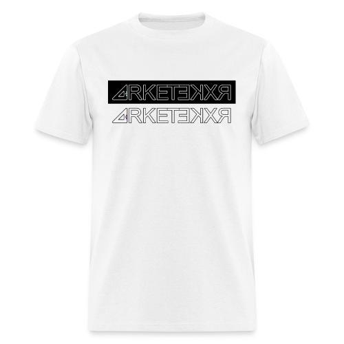 ARKETEKXR - Double Logo Letter Print - Men's T-Shirt