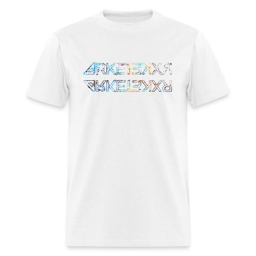 ARKETEKXR - 2 Logo Letter Print Graffiti Alpha - Men's T-Shirt