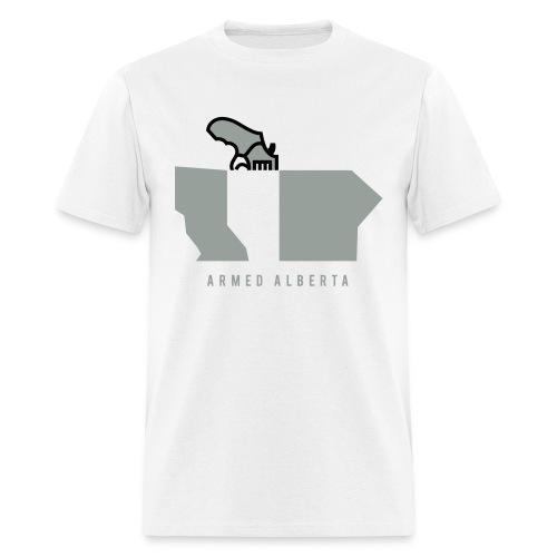 Armed Alberta - Men's T-Shirt