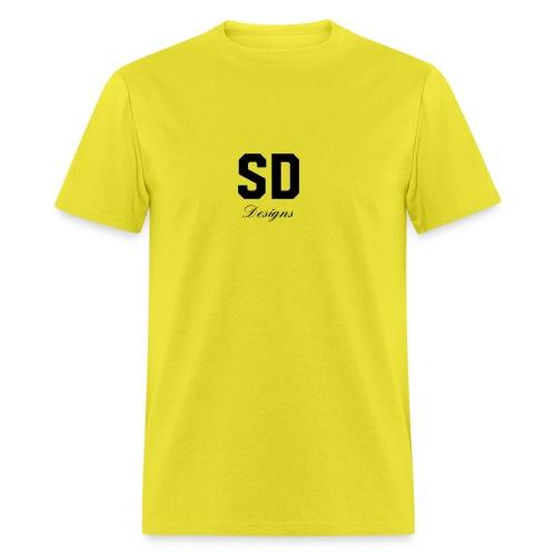 SD Designs blue, white, red/black merch - Men's T-Shirt