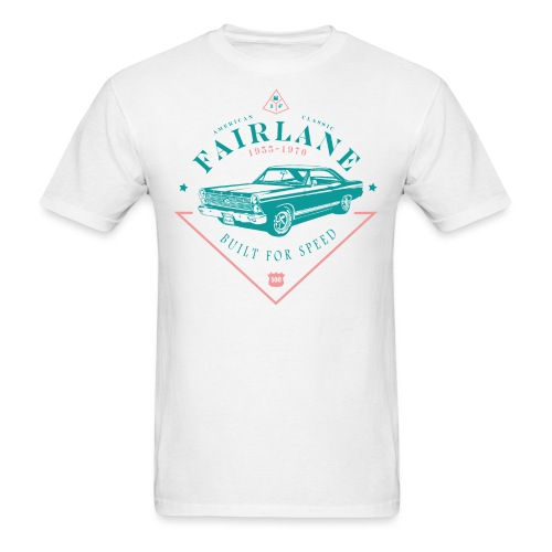 Ford Fairlane - Built For Speed - Men's T-Shirt