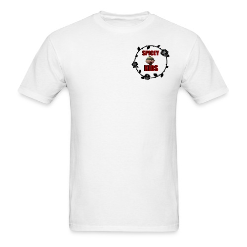 spicey kids logo - Men's T-Shirt