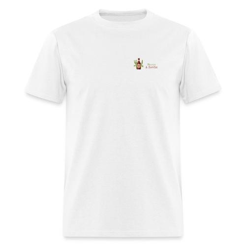 Beers & Burritos Logo - Men's T-Shirt