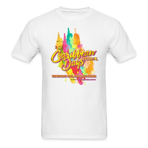 Caribbean Days Festival = Hot! Hot! Hot! - Men's T-Shirt