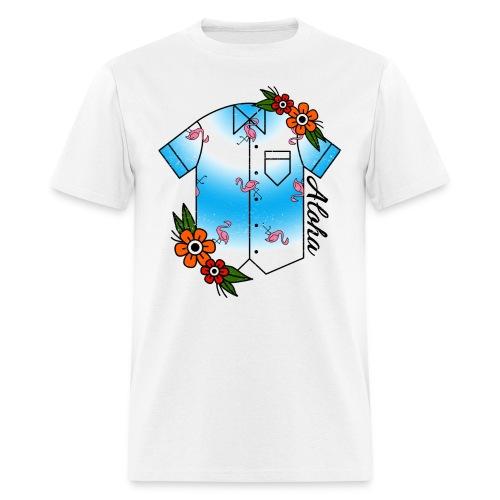 Aloha Hawaiian Shirt - Men's T-Shirt