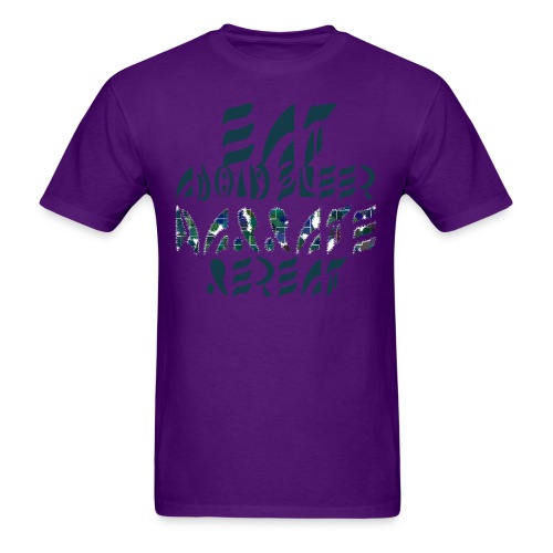 Eat Sleep Narrate Repeat - Men's T-Shirt