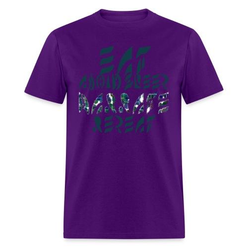 Eat Sleep Narrate Repeat - Men's T-Shirt