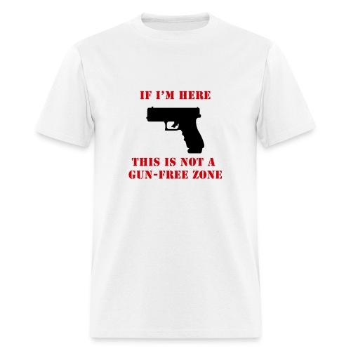 GunFreeZone - Men's T-Shirt