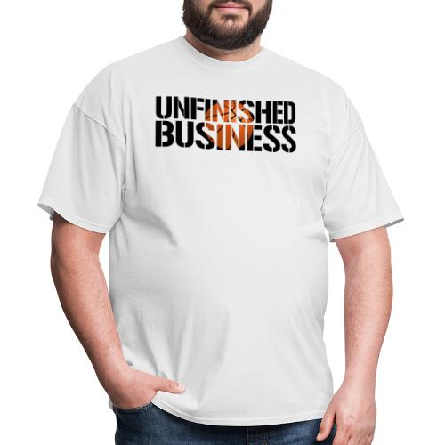Unfinished Business hoops basketball - Men's T-Shirt