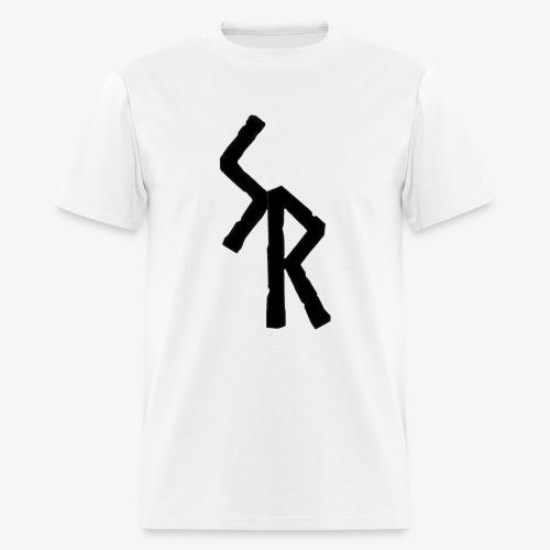Black SR Logo - Men's T-Shirt