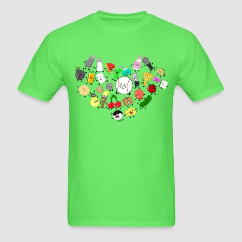 Inanimate Heart Color - Men's T-Shirt