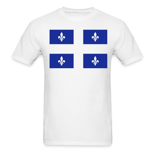 Drapeau du Québec FT - Men's T-Shirt