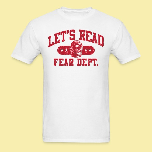 Athletic - Fear Dept. - RED - Men's T-Shirt