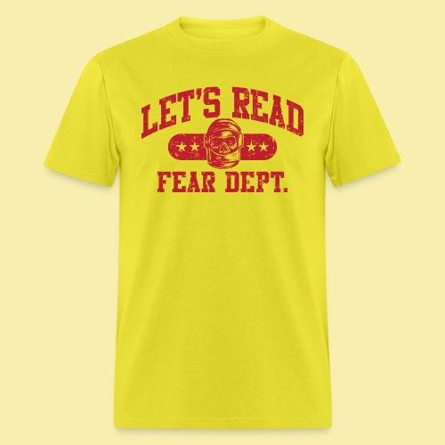 Athletic - Fear Dept. - RED - Men's T-Shirt