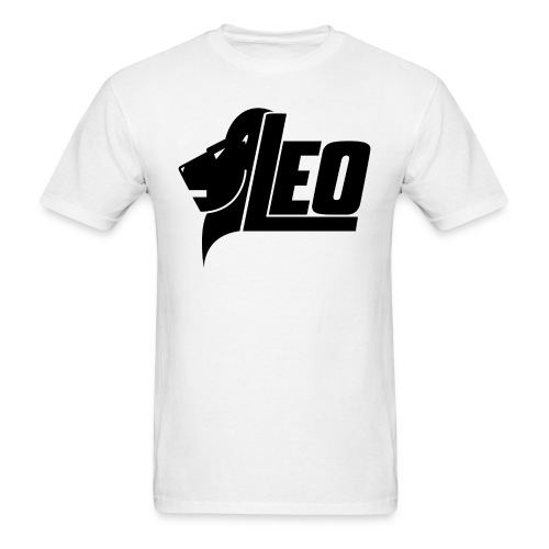 LEO Black png - Men's T-Shirt
