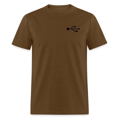 Small USB Logo Left Chest - Men's T-Shirt