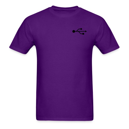 Small USB Logo Left Chest - Men's T-Shirt