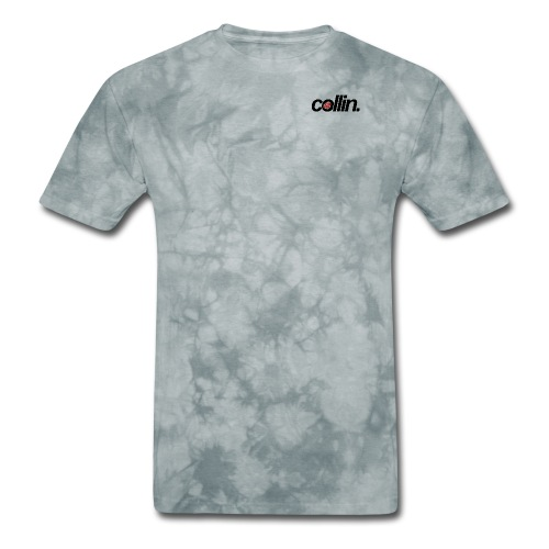 Collin. (Black w/ Rose) - Men's T-Shirt