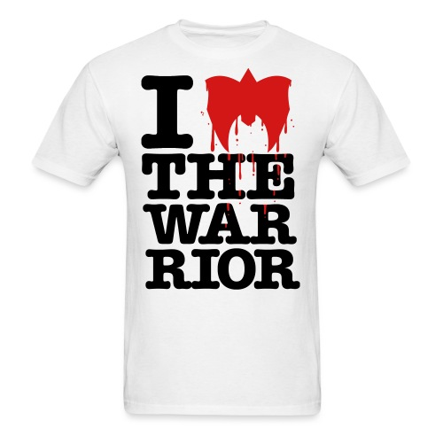 I Love The Warrior - Men's T-Shirt