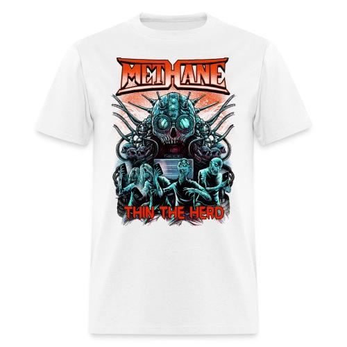 Thin the herd tour back - Men's T-Shirt