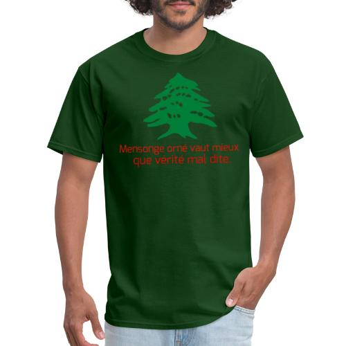 Collection Lebanese Proverb - Men's T-Shirt