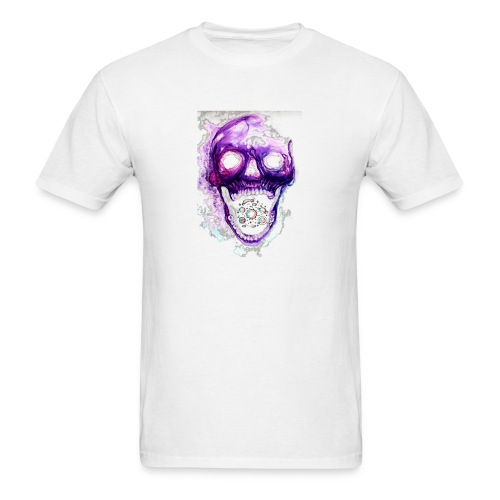 Skull vs galaxies - Men's T-Shirt