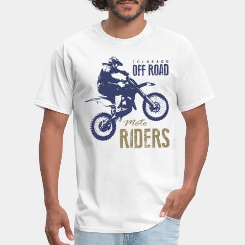 motorcycle off road rider biker - Men's T-Shirt