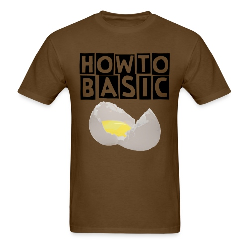 how to basics - Men's T-Shirt