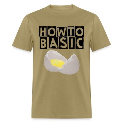 how to basics - Men's T-Shirt