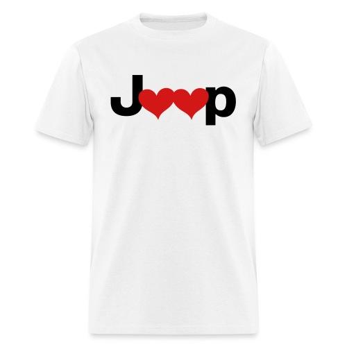 Jeep Love - Men's T-Shirt