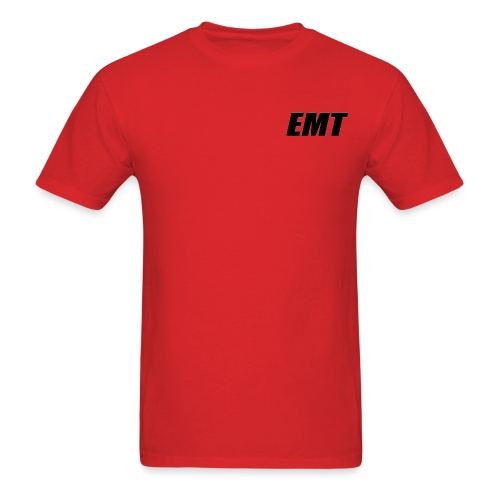 EMT Black - Men's T-Shirt