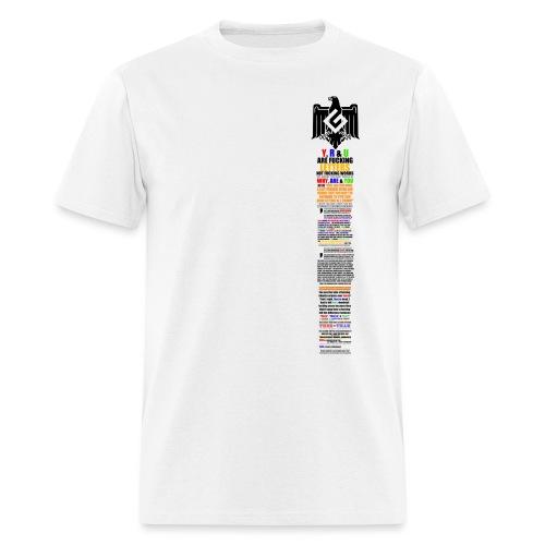 grammar nazi coat of arms - Men's T-Shirt