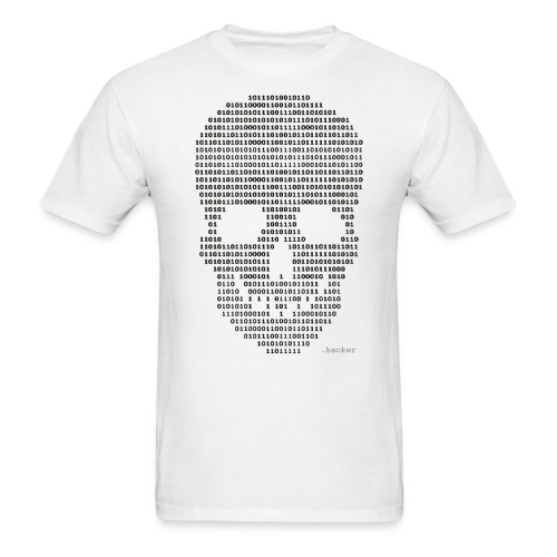 Hacker binary - Mens - Men's T-Shirt
