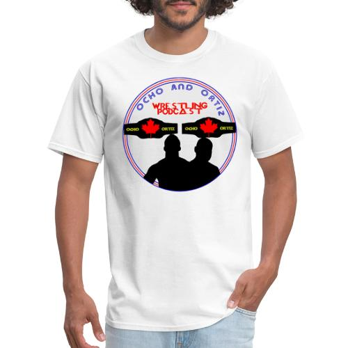 Ocho and Ortiz 2018 Logo - Men's T-Shirt