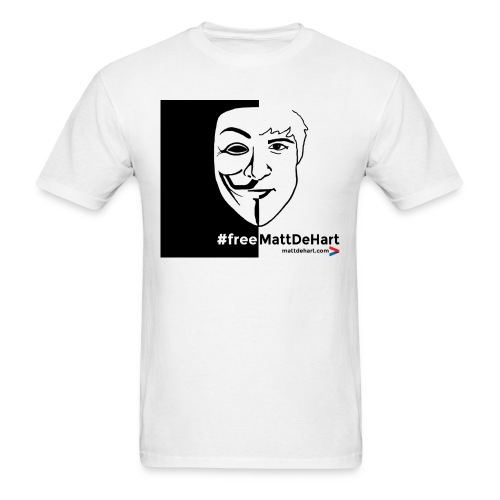 freemattdehart gif - Men's T-Shirt