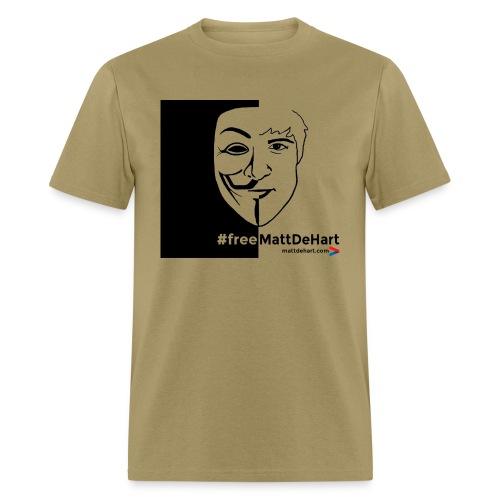 freemattdehart gif - Men's T-Shirt