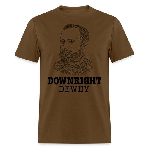 Downright Dewey - Men's T-Shirt
