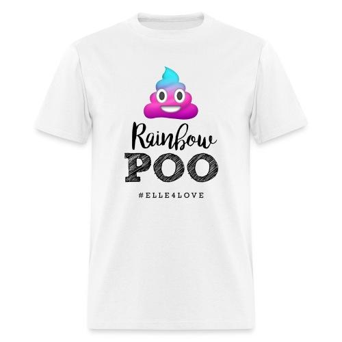 Rainbow Poo - Men's T-Shirt