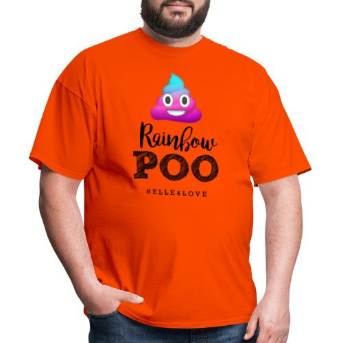 Rainbow Poo - Men's T-Shirt