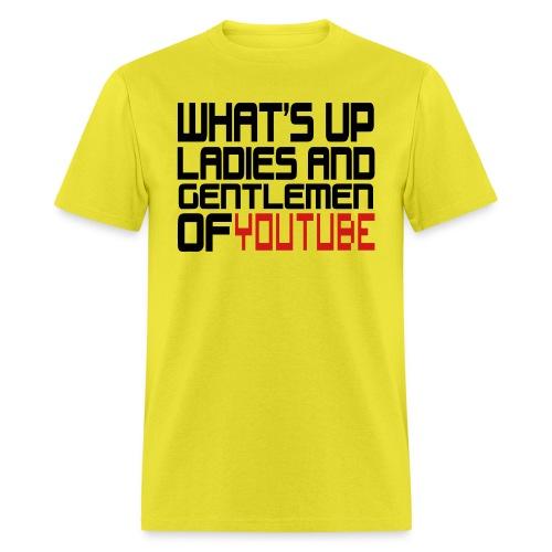yputube - Men's T-Shirt