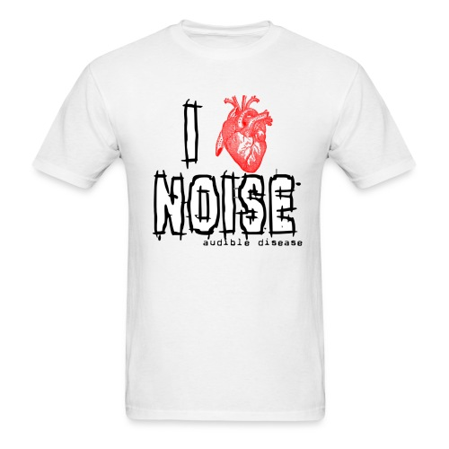 I Heart Noise - Men's T-Shirt
